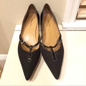Black Tahari Kitten Heels